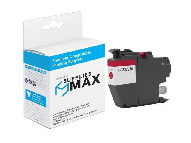 LC-3029-5BK2CMY 5-BK//2-C//M//Y SuppliesMAX Compatible Replacement for Brother MFC-J5830//J5930//J6535//J6935DW Super High Yield Inkjet Combo Pack