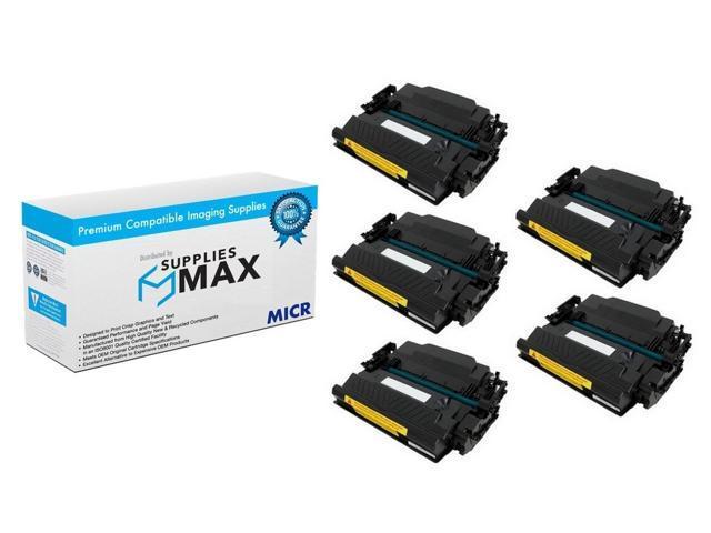 5PK High Yield CF287X 87X Toner Cartridge for HP Enterprise M506dn M527dn M527f