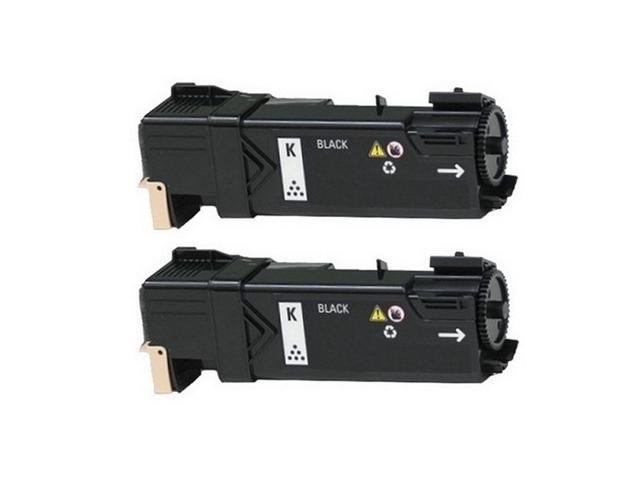 2//PK-2500 Page Yield P237C/_2PK SuppliesMAX Compatible Replacement for Dell 2130CN//2135CN Black Toner Cartridge