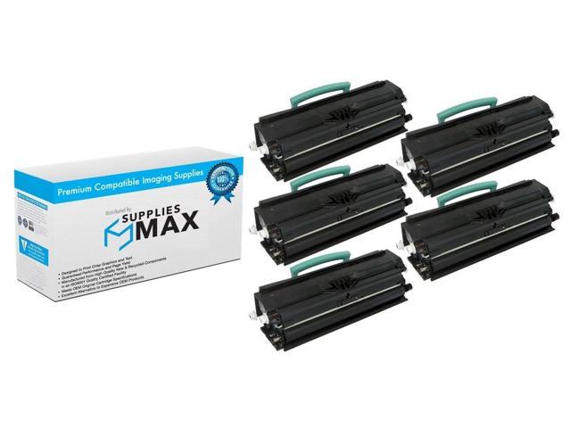 SuppliesMAX Compatible Replacement for Dell 2230D Toner Cartridge 330-4130/_5PK 5//PK-3500 Page Yield