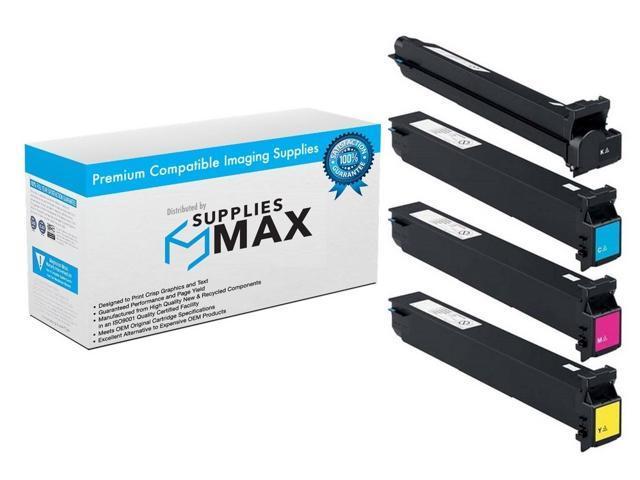 TN-6132B1CMY 2-BK//1-C//M//Y SuppliesMAX Compatible Replacement for Konica Minolta bizhub C552//652 Toner Cartridge Combo Pack