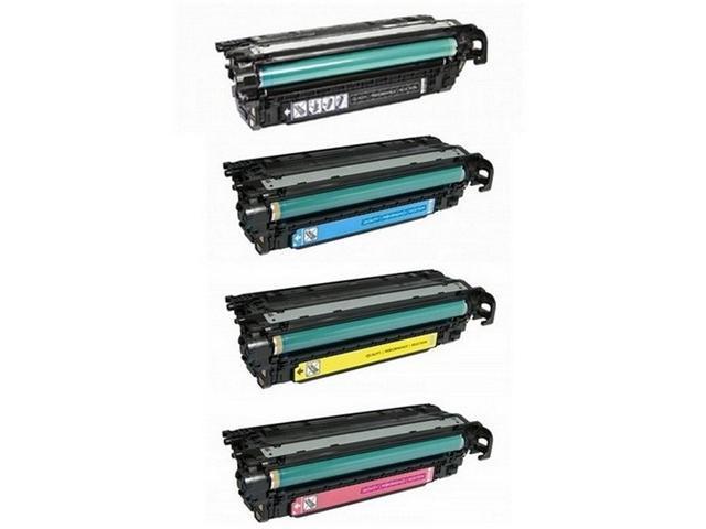 CF32XCMP SuppliesMAX Compatible Replacement for HP Laserjet Enterprise 600 M675//M680DN//M680F//M680Z Toner Cartridge Combo Pack NO. 653X//NO. 653A BK//C//M//Y