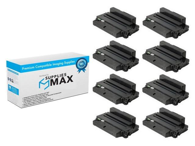 SuppliesMAX Compatible Replacement for Dell B2375DFW//B2375DNF Black High Yield Toner Cartridge 8//PK-10000 Page Yield C7D6F/_8PK