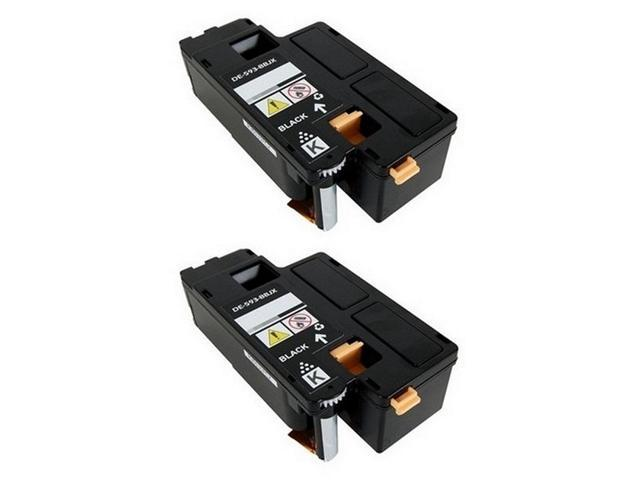 2//PK-2000 Page Yield SuppliesMAX Compatible Replacement for Dell 1320C//1320CN Black Toner Cartridge 310-9059/_2PK