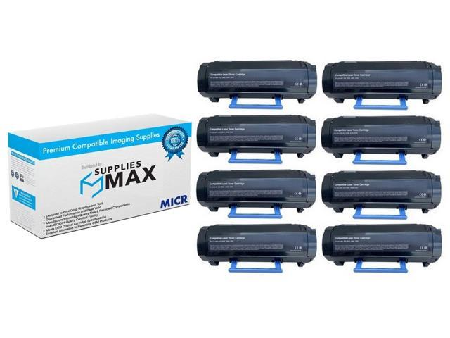 SuppliesMAX Compatible Replacement for Dell 966//968//968W Black Inkjet 3//PK Series 7 310-8373/_3PK