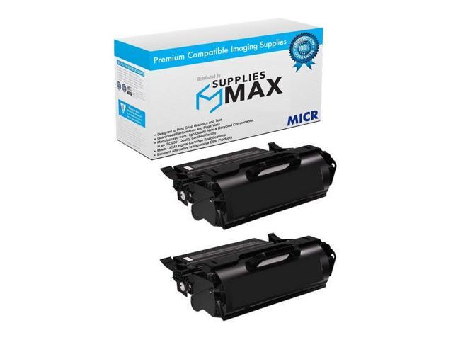 SuppliesMAX Compatible Replacement for Dell 5230DN//5230N//5350DN Toner Cartridge 2//PK-21000 Page Yield 330-6990/_2PK