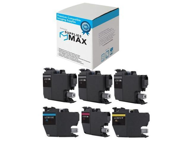 SuppliesMAX Compatible Replacement for Brother MFC-J5910//J6510//J6710//J6910DW Black Inkjet LC-79BK/_2PK 2//PK-2400 Page Yield
