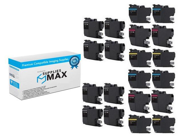 SuppliesMAX Compatible Replacement for Brother DCP-J572//J772//J774//MFC-J491//J497//J690//J890//J895DW Cyan High Yield Inkjet LC-3011XLC/_2PK 2//PK-400 Page Yield