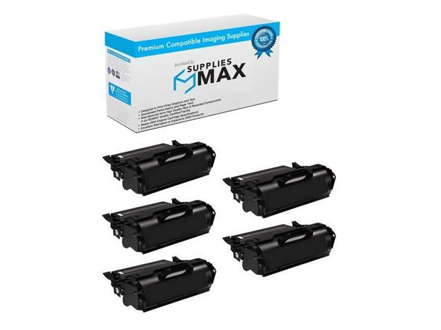 3//PK-21000 Page Yield 310-4549/_3PK SuppliesMAX Compatible Replacement for Dell M5200N//W5300N Toner Cartridge
