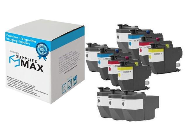 LC-3329XXLRBWBP C//M//Y SuppliesMAX Compatible Replacement for Brother MFC-J5830//J5930//J6535//J6935DW Super High Yield Inkjet Combo Pack