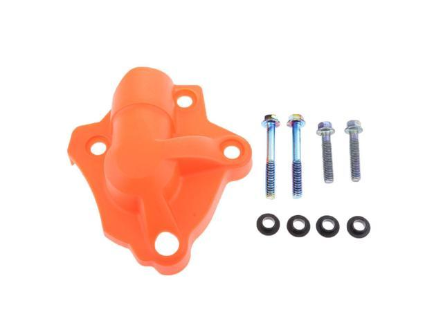 Water Pump Cover Protector Orange New For KTM 350 XC-F XCF-W 2013 2014 2015