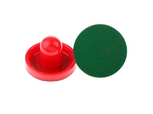2 Commercial Hockey Goalies with 2 Large Red Air Pucks