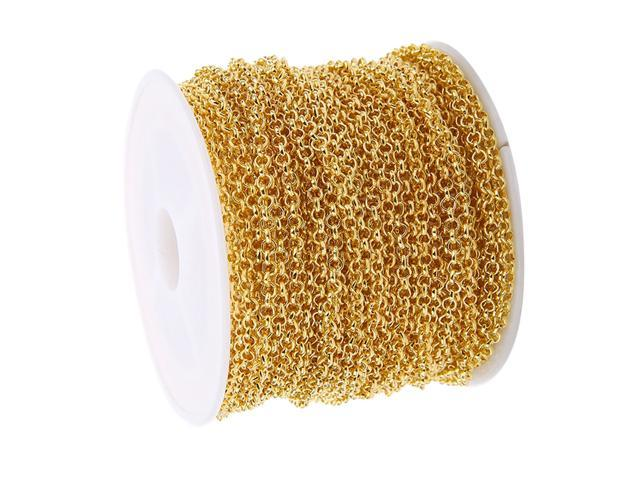 10 yds Jewelry Extension Chain Tail Extender Bracelet Jewelry Craft Silver
