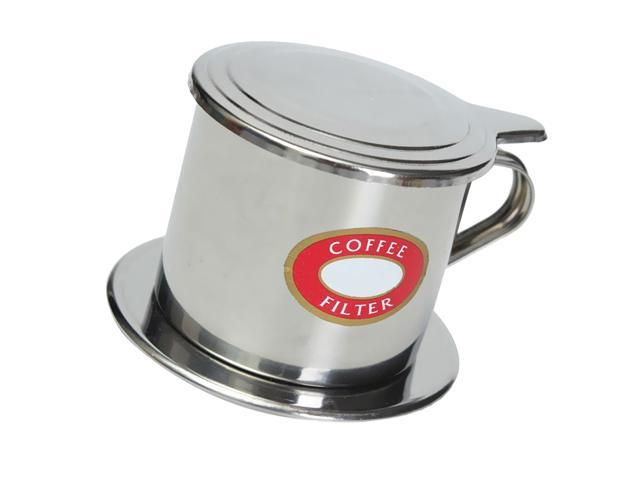 New Stainless Steel Vietnamese Coffee Drip Filter Maker Infuser Pot 50ml Newegg Com