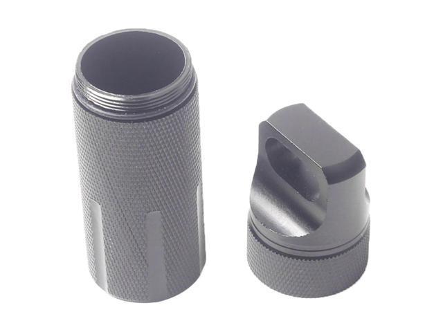 3pcs Waterproof Aluminum Capsule Box Emergency Pill Money Container Holder