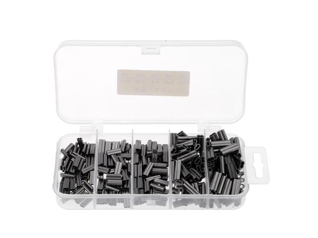 Double Barrel Crimp Sleeves 300pcs Fishing Line Tube Connector For Leader Rigs