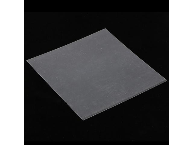 200x200x0.5mm PEI Sheet Polyetherimide Build Surface For 3D Printer Black