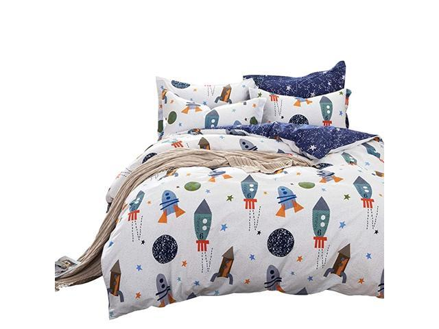 Kids Bedding Sets Twin Size Boys Outer Space Bedding Set ...