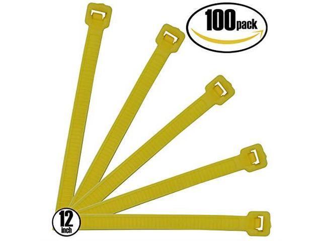 Multi-Purpose Black Zip Ties Self-Locking Small Zip Ties Heavy Duty Zip Ties Indoor and Outdoor UV Resistant 8 Inch 150 PCS Nylon Cable Ties