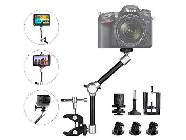 Hyx 11 inch Aluminium Alloy Adjustable Articulating Friction Magic Arm Camera Parts Accessories