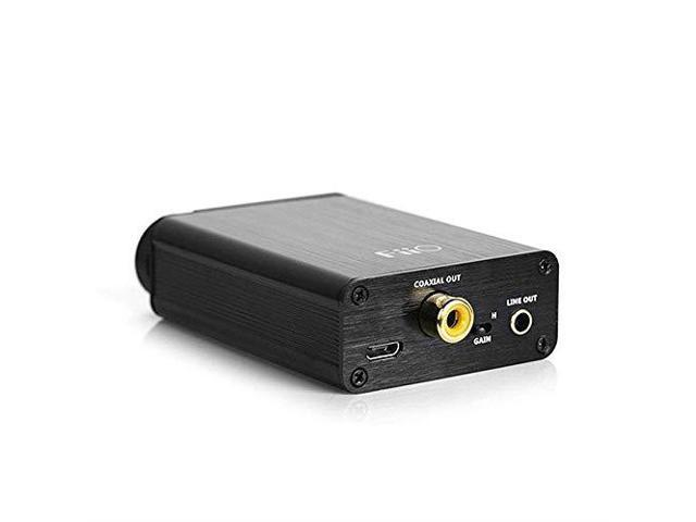 and Blucoil Y Splitter for Audio Mic Antlion Audio ModMic Uni with Mute Switch Bundle with FiiO E10K Black USB DAC and Headphone Amplifier