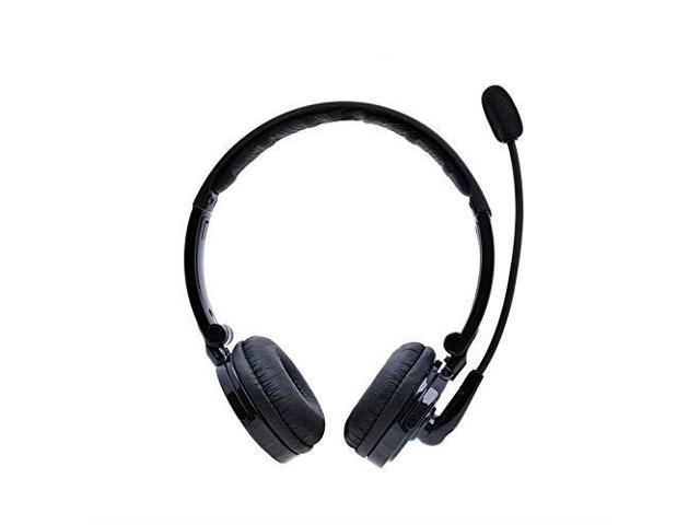 Bluetooth Headphones With Mic Wireless Bluetooth Headset Noise Cancelling Headphones With Boom Microphone On Ear Phone Headset For Office Phone Call Center Customer Service Pc Cell Phones Newegg Com