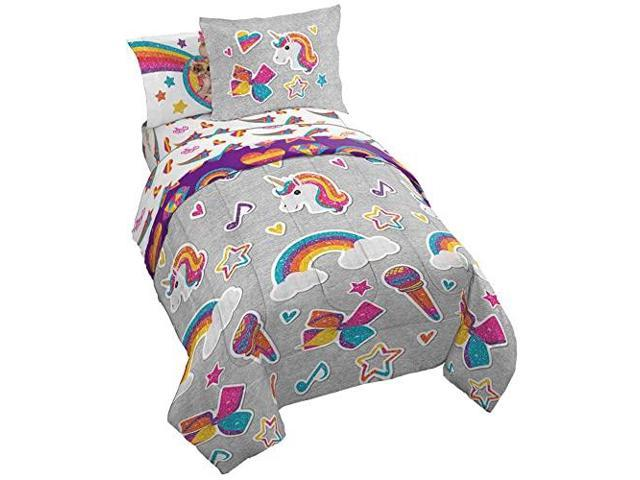 Nickelodeon Jojo Siwa Rainbow Sparkle, Jojo Siwa Bedding Set Full