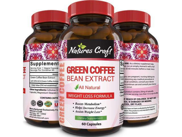 Pure Green Coffee Bean Extract Supplement Best For Weight Loss