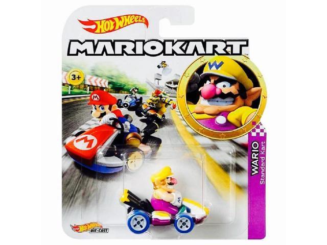 Wario Super Mario Kart Character Car Diecast 1:64 Scale
