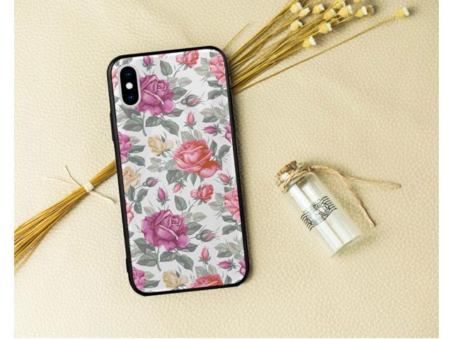 Glossy Tempered Glass Phone Case Cover