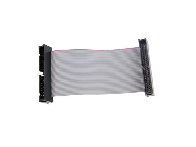 2 inch 40-Pin Male//Male IDE Gender Changer Ribbon Cable