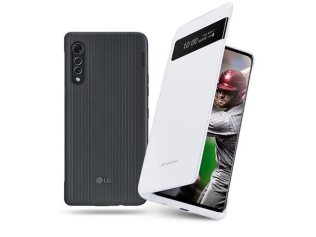LG VELVET 5G | LM-G900N 128GB | Dual Screen Included | Factory Unlocked - Kor. Intl. Ver. (Aurora White)