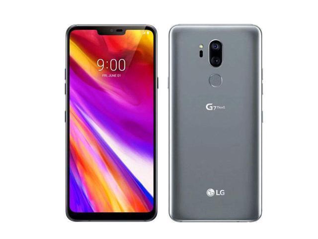 LG G7 ThinQ LGG710PM 64GB Platinum Gray Sprint Unlocked Verizon AT&T GSM Unlocked MINT