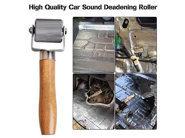 Metal Installation Tool Seam Roller for Car Sound Deadener Interior Accessories Pack of 3 Car Sound Deadening Roller