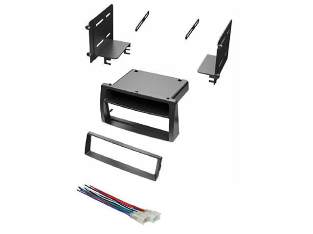 Car Stereo Dash Kit And Wire Harness For Installing A