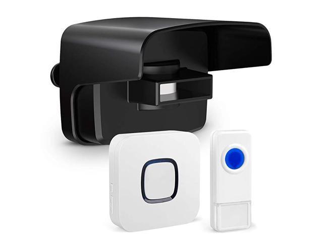 Driveway Alarm System Weatherproof, Motion Detector Alarm Outdoor Wireless