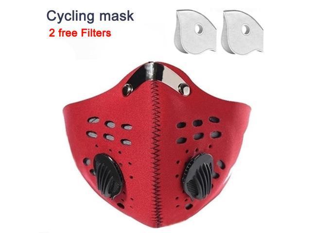 Nice Motor Bike Sport Mouth-muffle Dustproof /& Dust Filter Anti-pollution Mask
