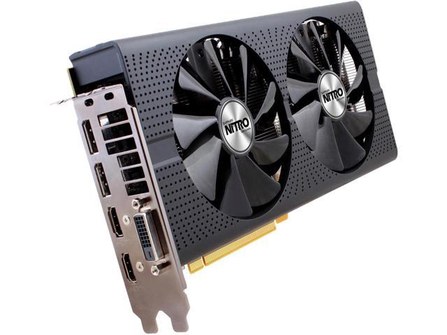 SAPPHIRE NITRO+ Radeon RX 480 100406NT+8GOCL 8GB 256-Bit GDDR5 PCI Express 3.0 x16 HDCP Ready Video Card
