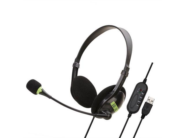 Headphones With Mic Charging Base Wireless Headset For Pc Laptop Call Center Office Newegg Com