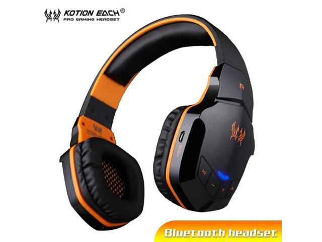 Kotion Each B3505 Wireless Bluetooth Headphones Gaming Headset Stereo Earphones With Microphone For Mobile Phone Pc Gamer Newegg Com