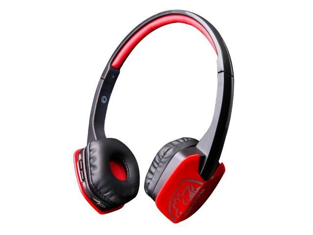 Sades D201 Bluetooth Headset Gaming Headphones With Mic On Ear Wireless Headset For Pc Laptop Smart Phones Black Red Newegg Com
