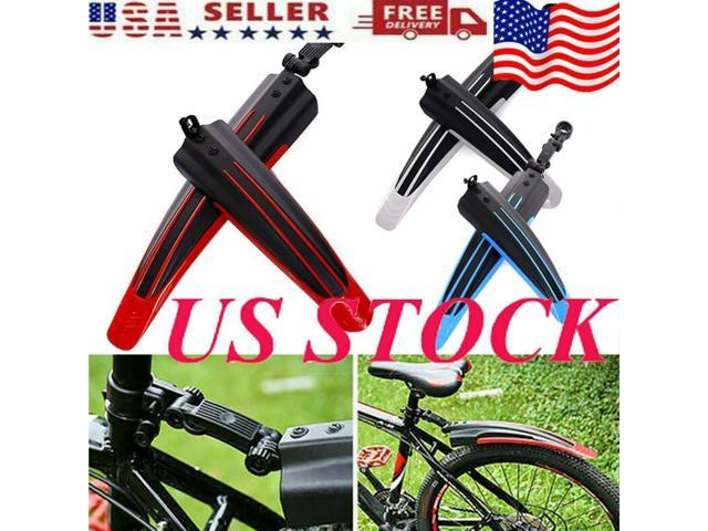1 Pair Bicycle Tire Fenders Front Rear Mud Guards Mountain Bicycle Bike Anti Mud