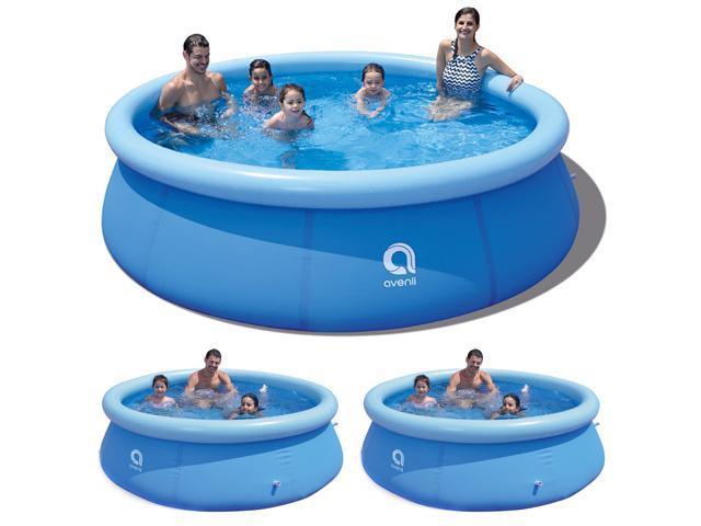 Jilong Swimming Pool Set Garden Outdoor Large Family Size Paddling Pool