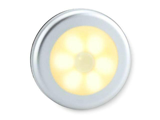 US LED Wireless PIR Motion Sensor Night Light Battery Powered Wall Cabinet Lamp