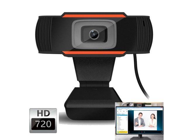 Hd 720p Webcam Rotatable Laptop Pc Desktop Computer Web Camera Usb Web Cam Conferencing Video Recording Built In Microphone Newegg Com