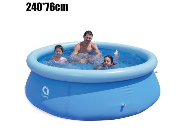 Inflatable Swimming Pool Bathing Pool for Kids Adult Family Kiddie Pools Summer Water Playing Equipment for Indoor Outdoor Garden Lawn Backyard Childrens Paddling Pool