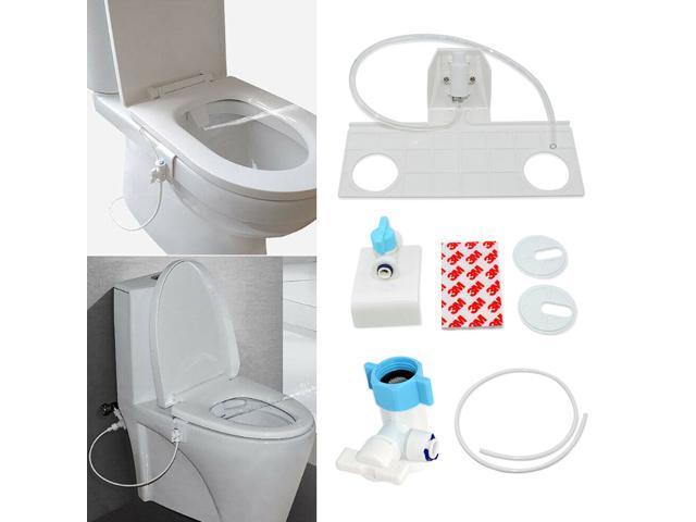 Toilet Seat Attachment Fresh Water Spray Non Electric New Bidet US X0C8