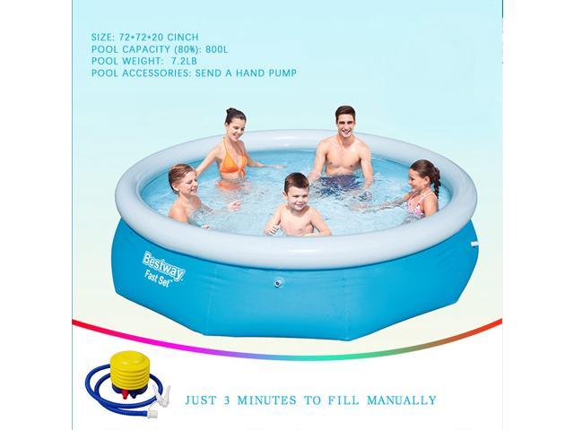 new summer Intex 6ft x20In Easy Set family inflatable pool above ground swimming
