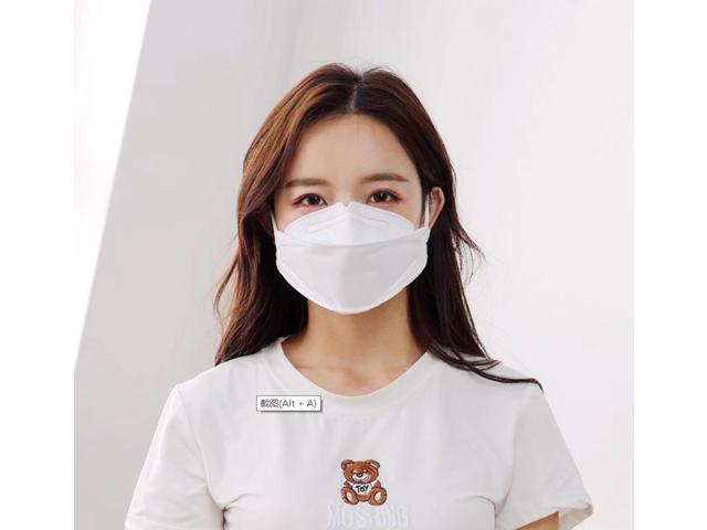 100pcs KF94 Mask Protective Korea Mask As N95 Mask Anti Covid-19 Virus Face Mask Anti Flu,Nonwoven Fabrics 4-Layers Facemask Fashion