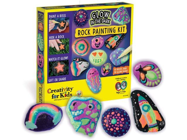 Glow In The Dark Rock Painting Kit - Paint 10...